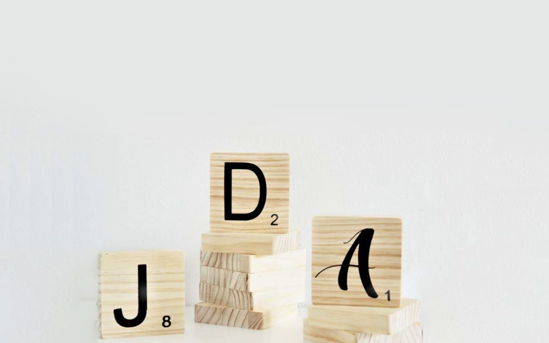 Cómo decorar con letras Scrabble.